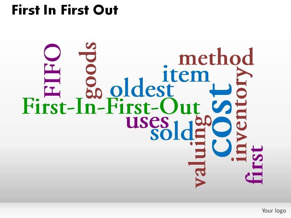 First In First Out Powerpoint Presentation Slides