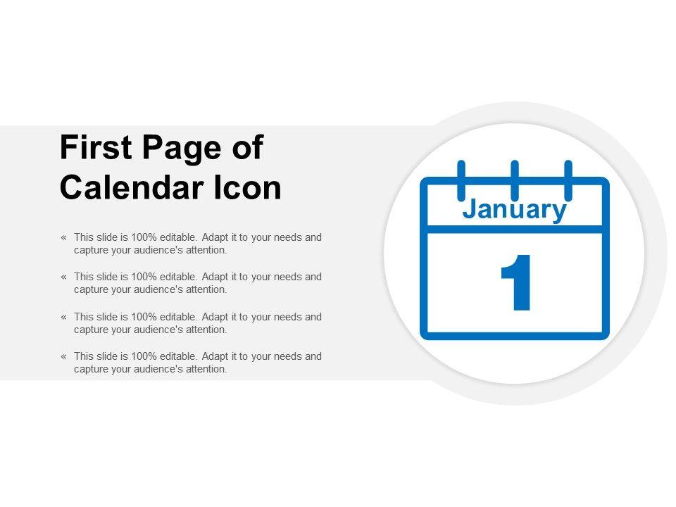 62030586 Style Variety 2 Calendar 4 Piece Powerpoint