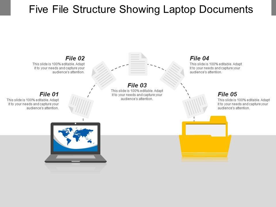 five_file_structure_showing_laptop_documents_Slide01