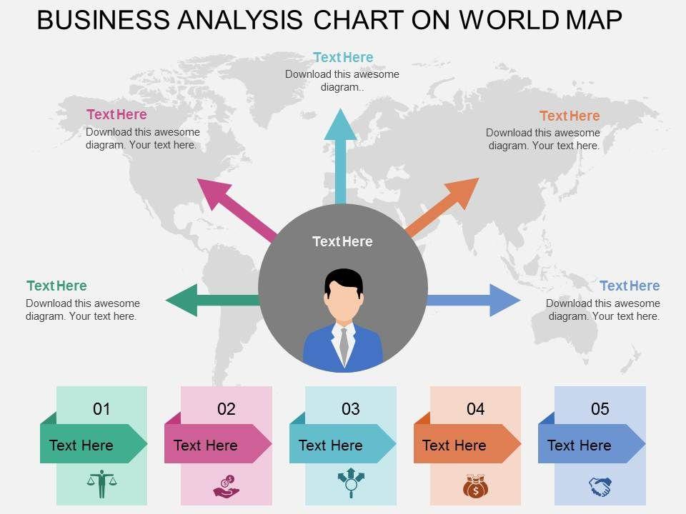 Five staged business analytics chart on world map ppt presentation fivestagedbusinessanalyticschartonworldmappptpresentationslidesslide01 gumiabroncs Images