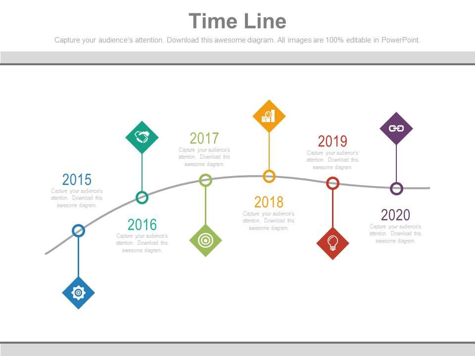 five_staged_sequential_timeline_with_tags_powerpoint_slides_Slide01
