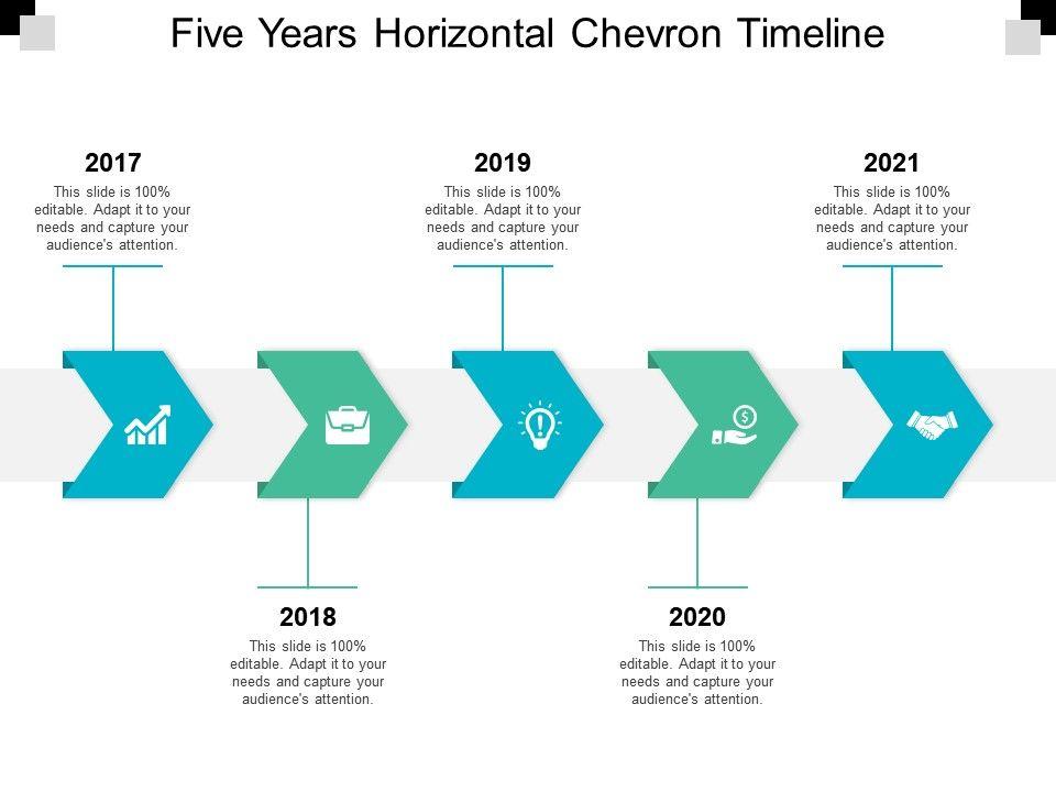chevron process flow diagram for powerpoint