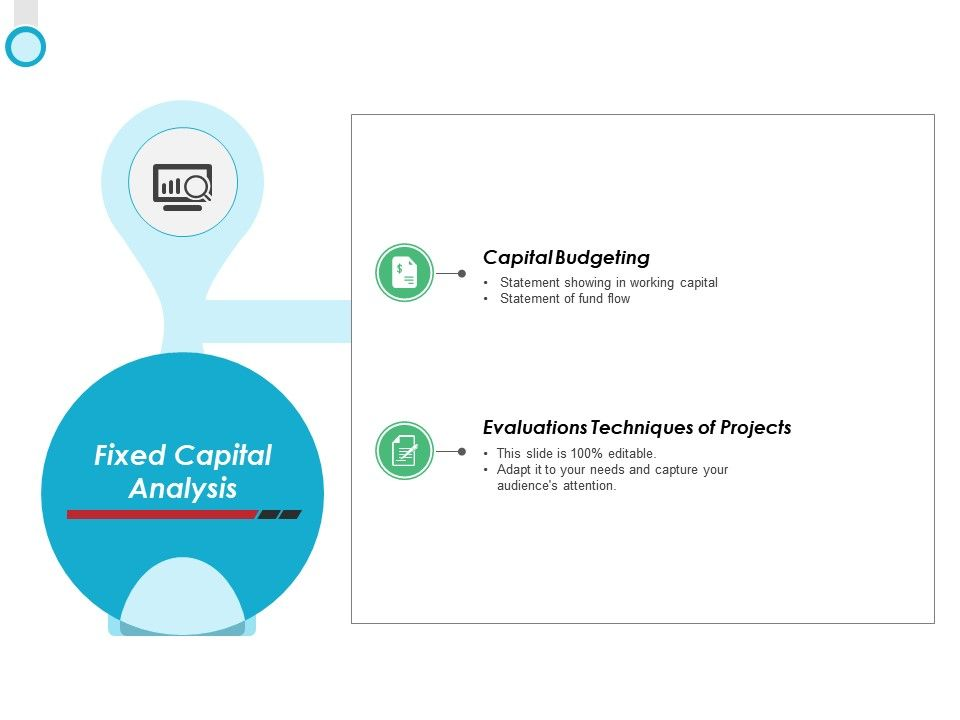 Fixed Capital Analysis Techniques Ppt Powerpoint Presentation Icon Graphics
