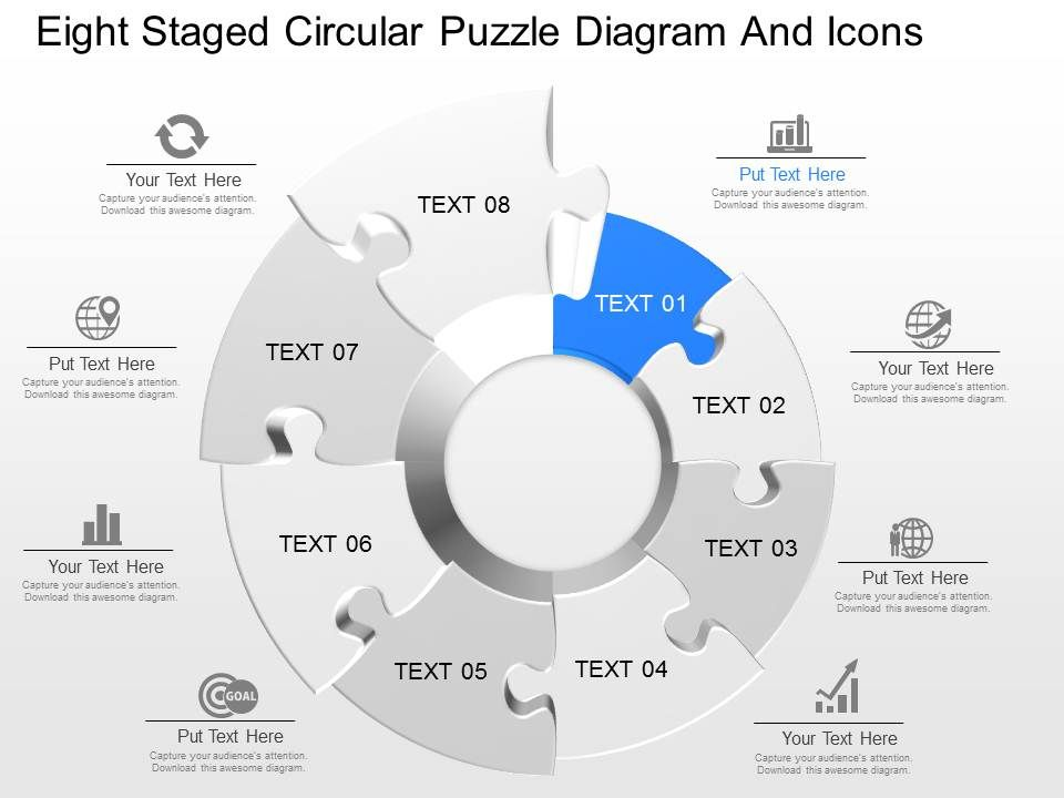 fk_eight_staged_circular_puzzle_diagram_and_icons_powerpoint_template_Slide01