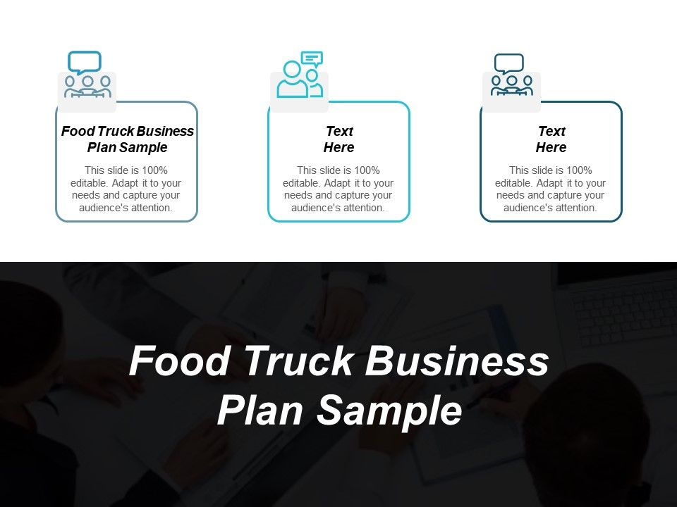 food truck business plan executive summary