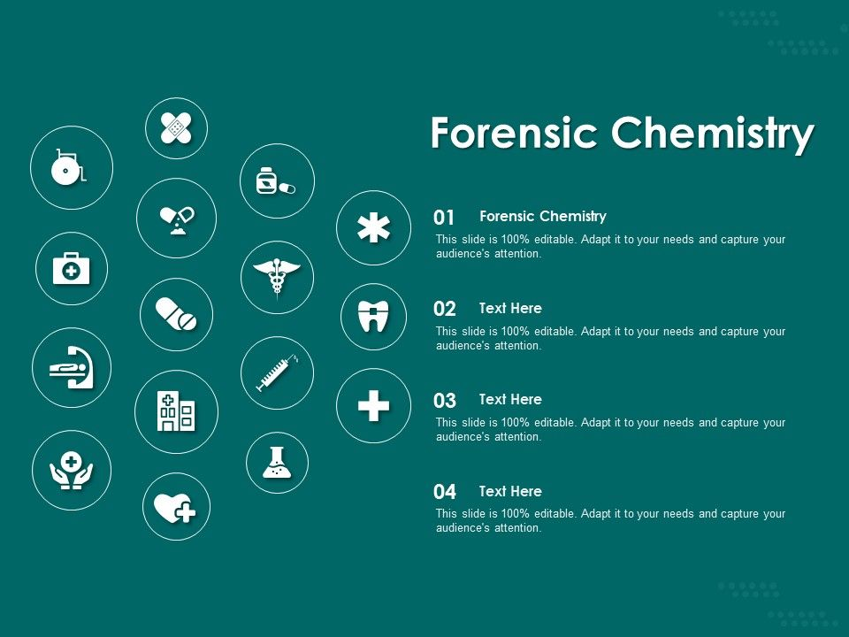 Forensic Chemistry Ppt Powerpoint Presentation Slides Aids Presentation Graphics Presentation Powerpoint Example Slide Templates