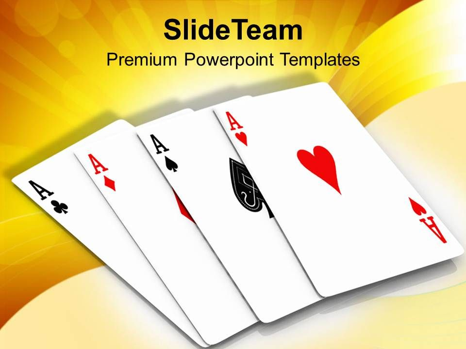 four_aces_playing_cards_game_powerpoint_templates_ppt_themes_and_graphics_0313_Slide01