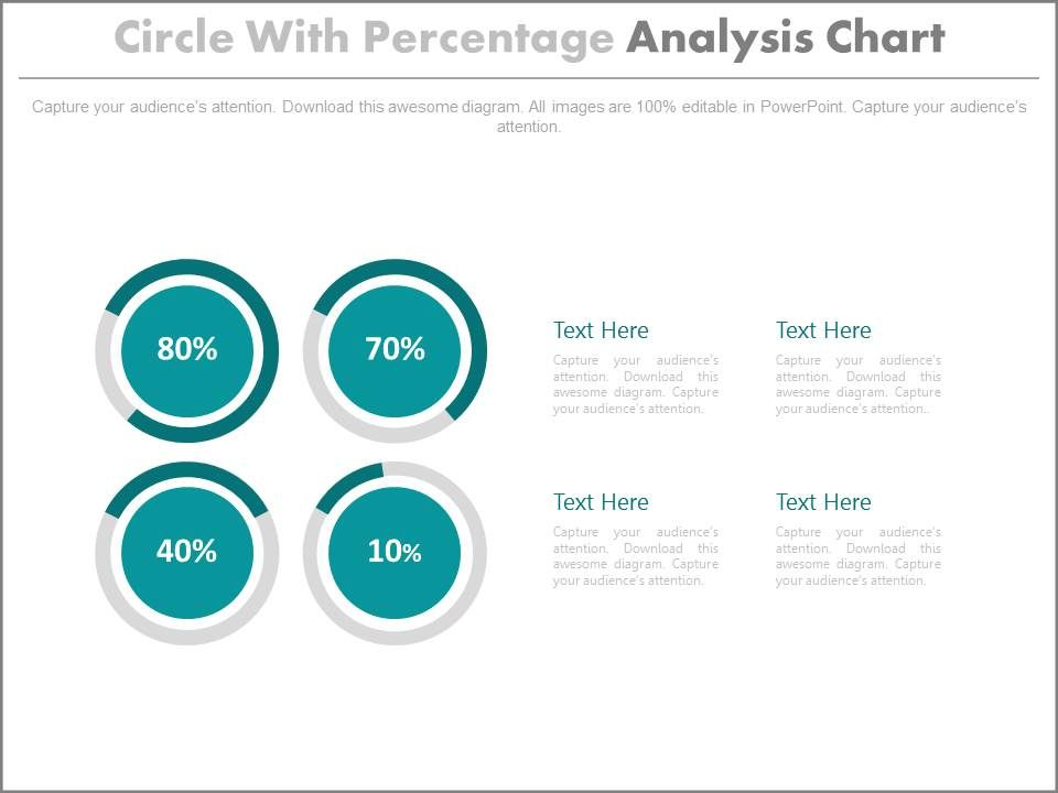 four_circle_with_percentage_analysis_chart_powerpoint_slides_Slide01