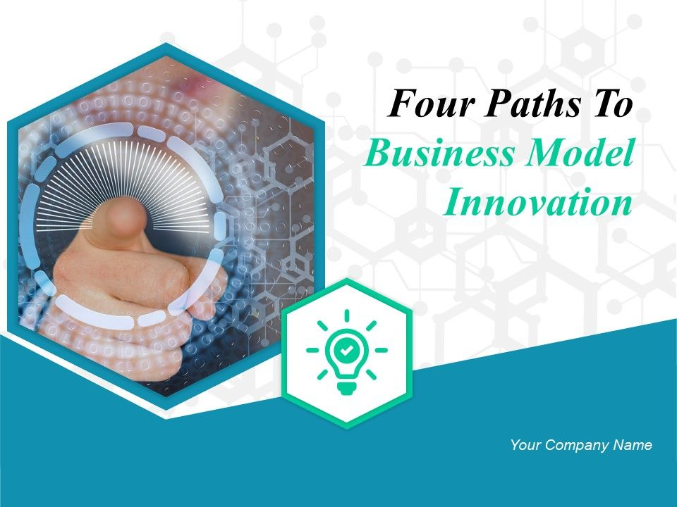 four_paths_to_business_model_innovation_powerpoint_presentation_slides_Slide01