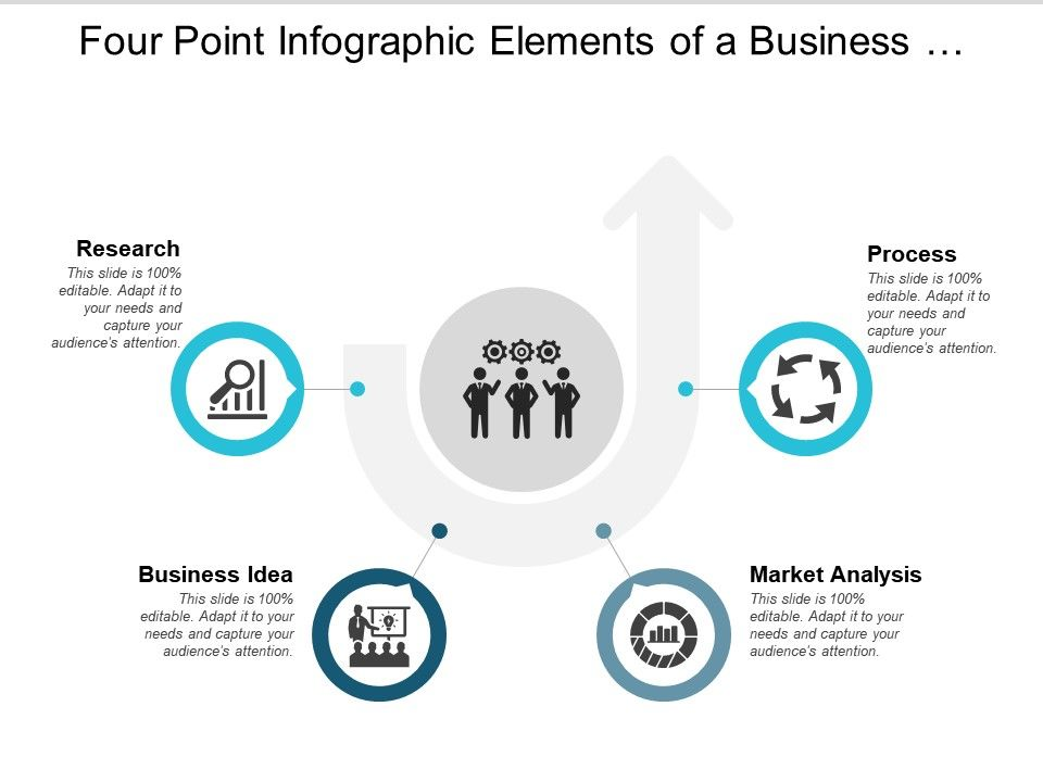 four_point_infographic_elements_of_a_business_plan_Slide01