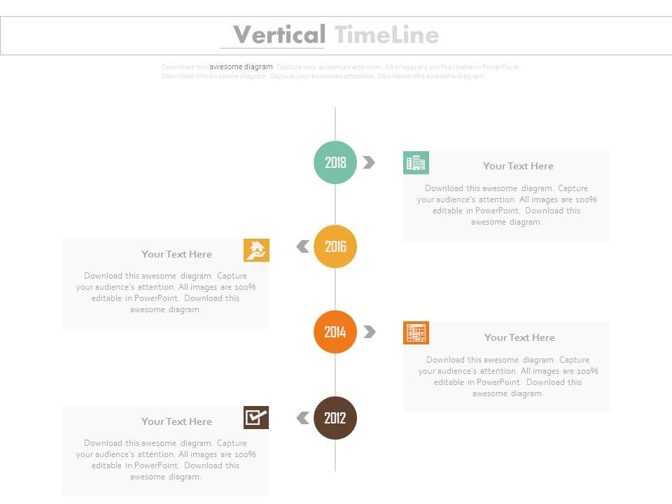 four_staged_vertical_timeline_for_year_based_growth_powerpoint_slides_Slide01