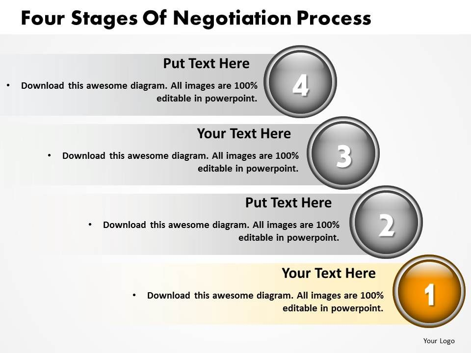 four_stages_of_negotiation_process_powerpoint_templates_ppt_presentation_slides_812_Slide02