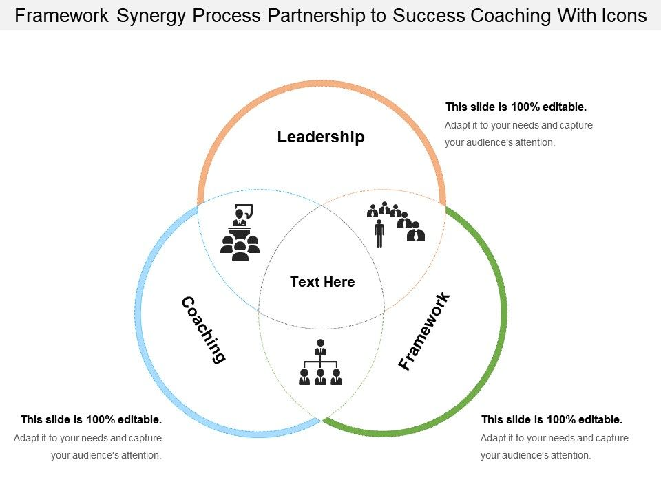 framework_synergy_process_partnership_to_success_coaching_with_icons_Slide01