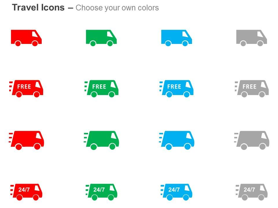 free shipping 24 7 product delivery ppt icons graphics templates