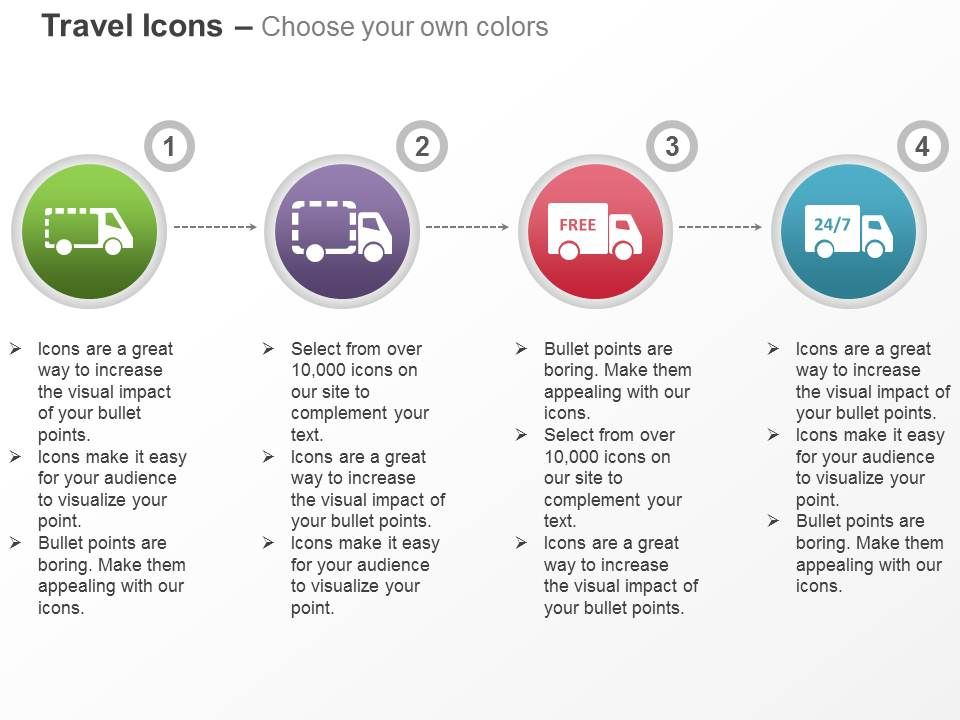 Free Shipping Across The World Ppt Icons Graphics