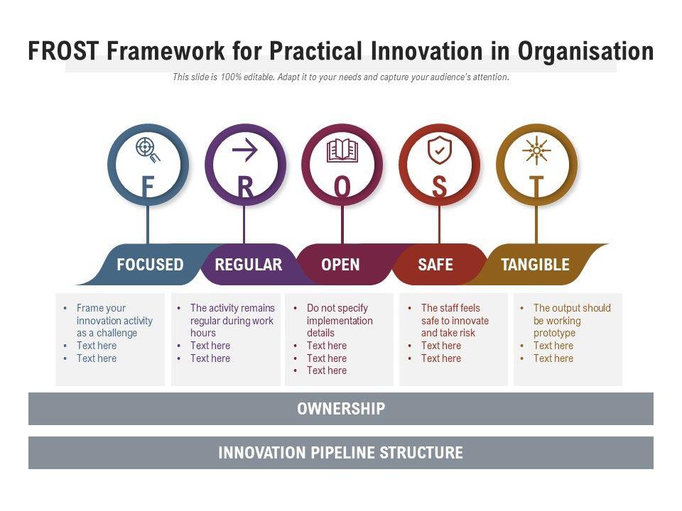 Frost Framework For Practical Innovation In Organisation