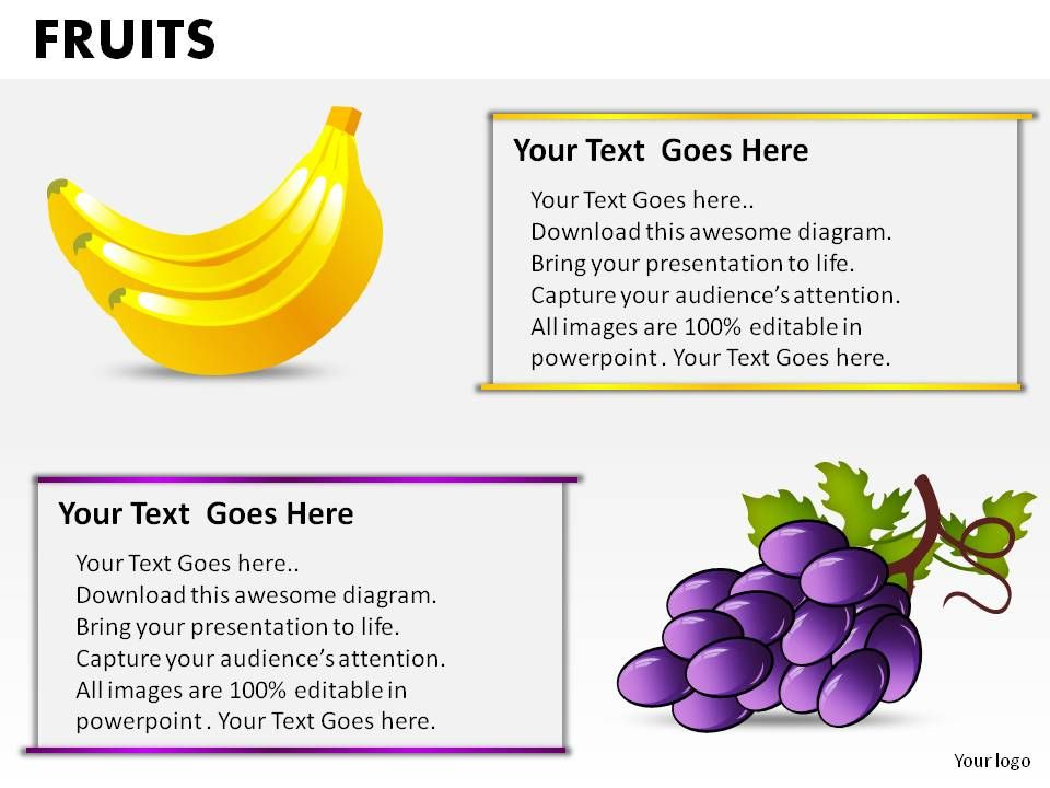 fruits powerpoint presentation slides powerpoint slides diagrams