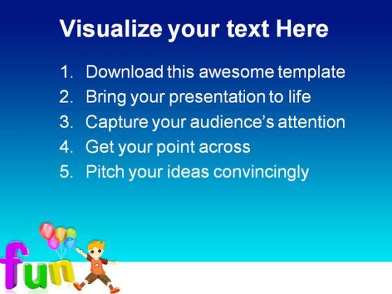 fun abstract entertainment powerpoint templates and powerpoint, Modern powerpoint