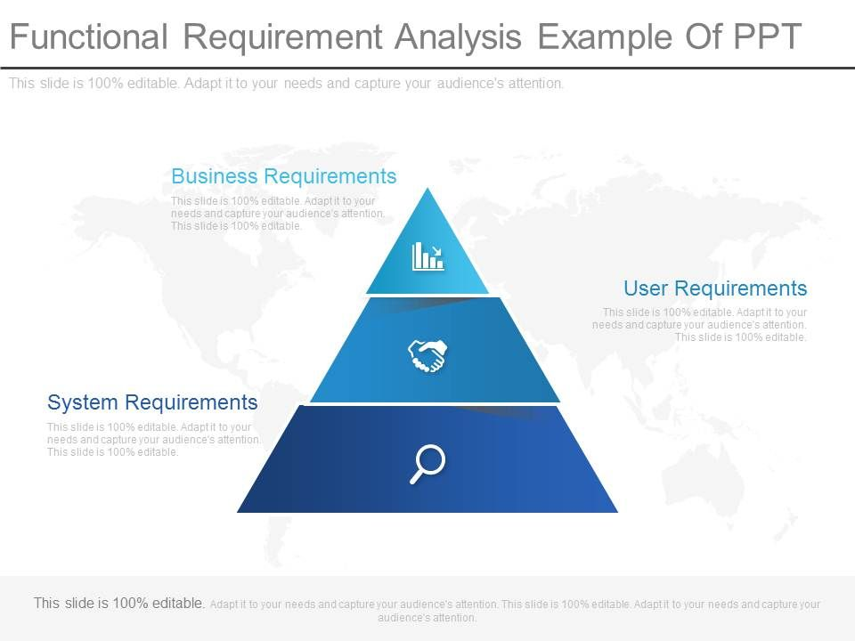 Functional Requirement Analysis Example Of Ppt  Powerpoint