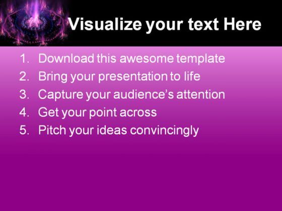 futuristic purple with blue background powerpoint templates and, Presentation templates