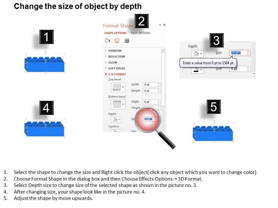 powerpoint 4 blocker template