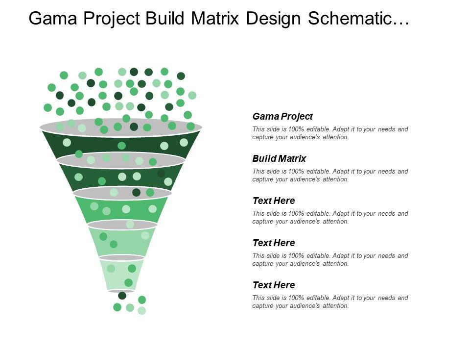 Gama Project Build Matrix Design Schematic Design Development ...