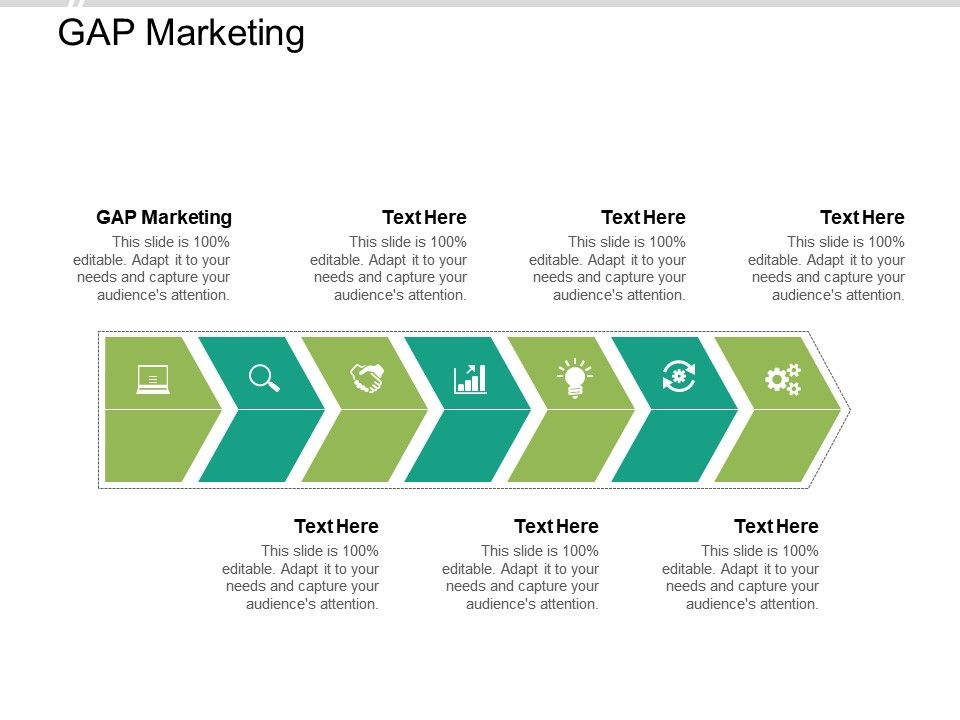 Gap Marketing Ppt Powerpoint Presentation Icon Clipart Images Cpb