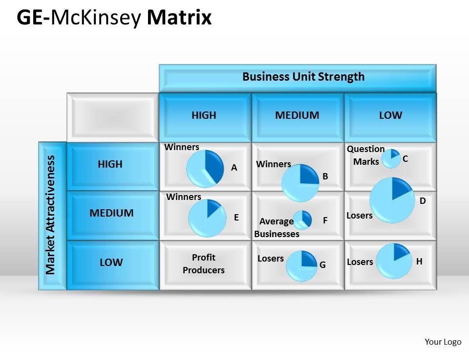 16776694 Style Hierarchy Matrix 1 Piece Powerpoint