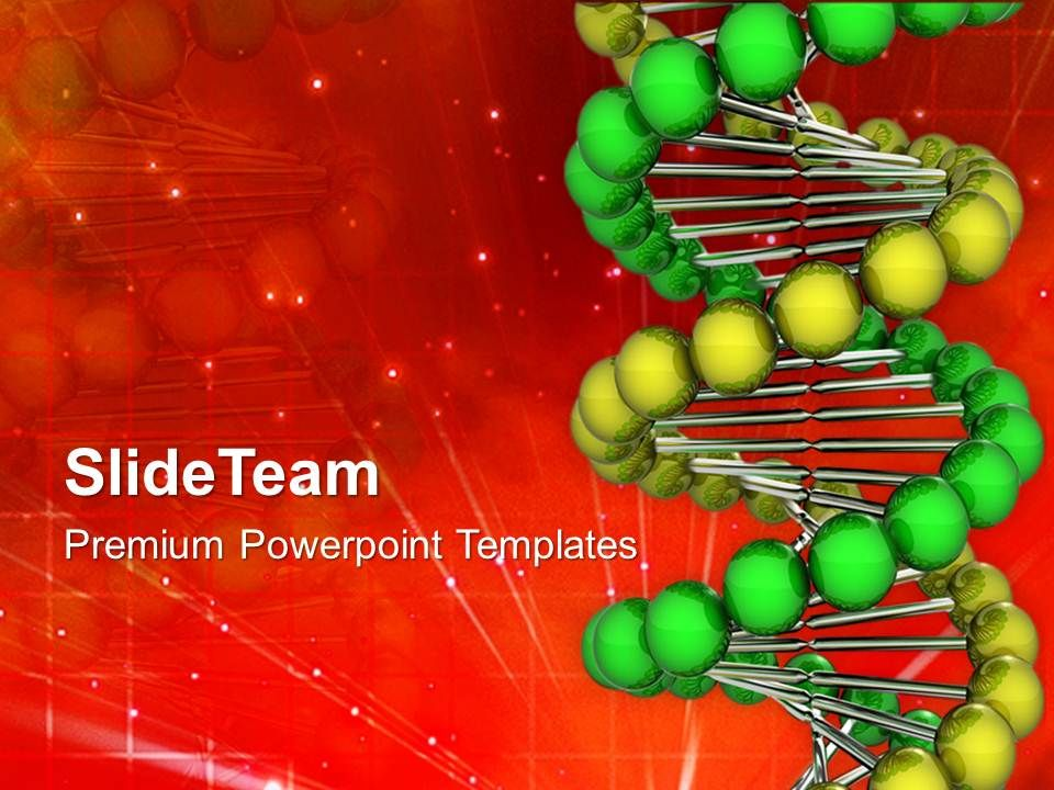Genetic Illustration Of Dna Strand Powerpoint Templates Ppt Backgrounds For Slides 0213 Presentation Graphics Presentation Powerpoint Example Slide Templates