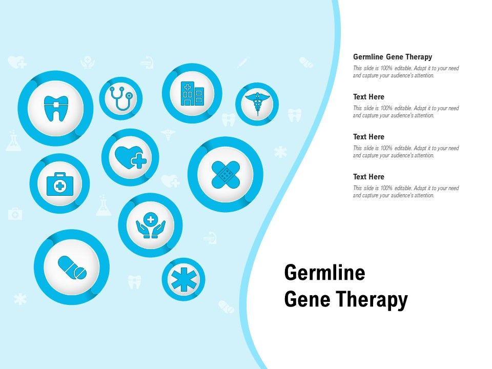 Germline Gene Therapy Ppt Powerpoint Presentation Infographics