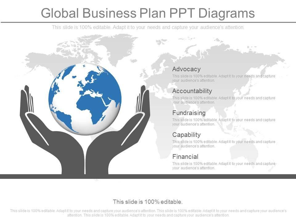 global business plan ppt diagrams presentation graphics. Black Bedroom Furniture Sets. Home Design Ideas