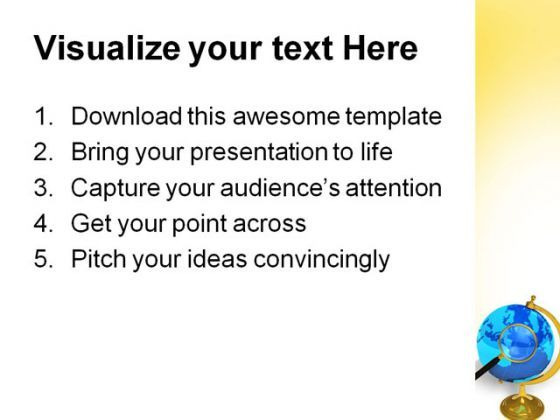 global communication concept technology powerpoint templates and