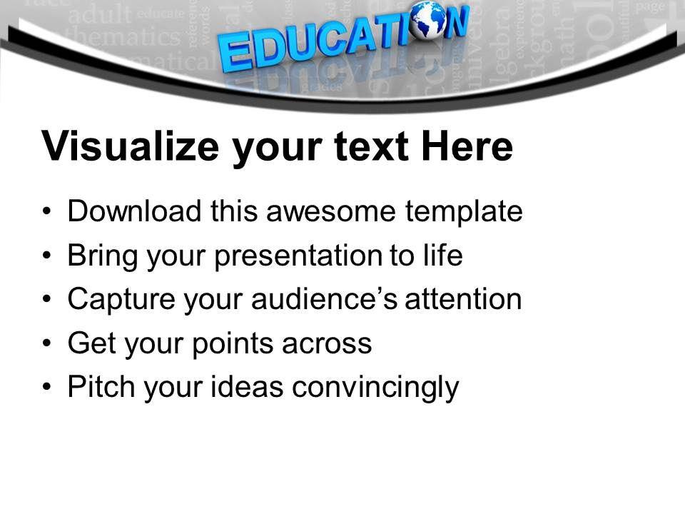 Global education word future powerpoint templates ppt themes and globaleducationwordfuturepowerpointtemplatespptthemesandgraphics0113slide02 toneelgroepblik Choice Image