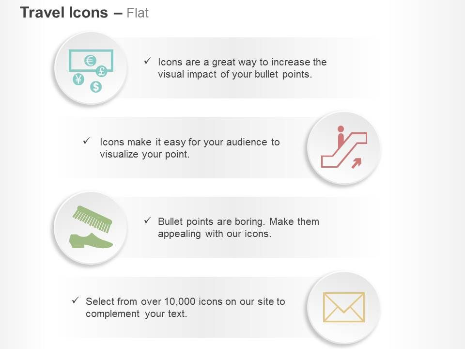 Global Money Accelerator Shoe Brush Mail Ppt Icons Graphics