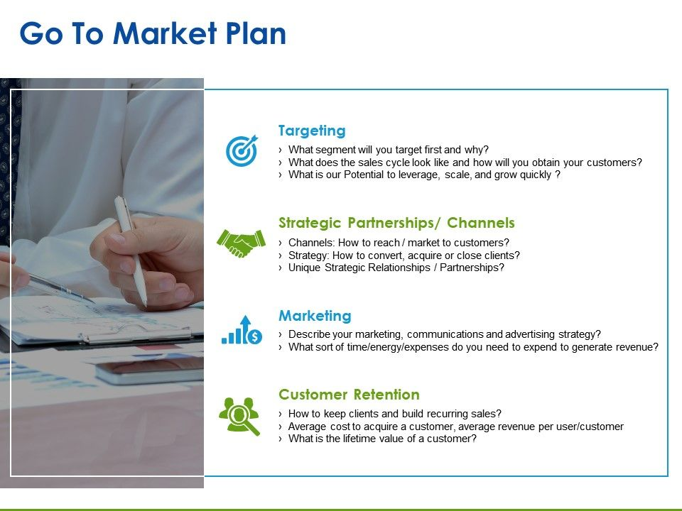 go to market plan presentation pictures powerpoint slide