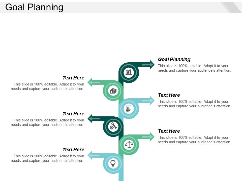 Goal Planning Ppt Powerpoint Presentation Icon Background Images Cpb