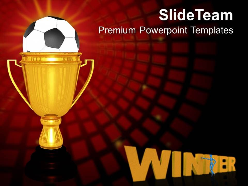 Gold cup winner with soccer ball victory powerpoint templates ppt goldcupwinnerwithsoccerballvictorypowerpointtemplatespptthemesandgraphics0213slide01 toneelgroepblik Images