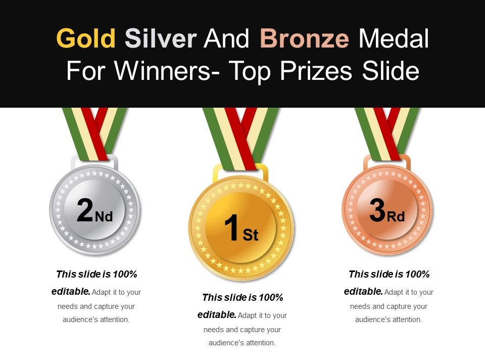 gold_silver_and_bronze_medal_for_winners_top_prizes_slide_ppt_examples_Slide01