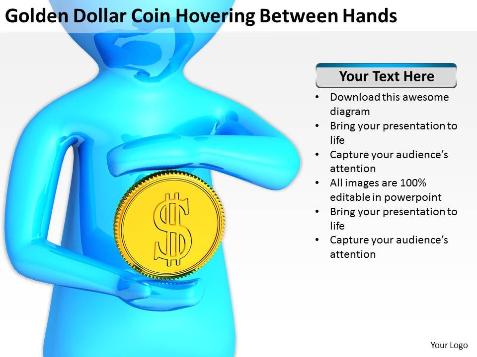 golden_dollar_coin_hovering_between_hands_ppt_graphics_icons_powerpoint_Slide01