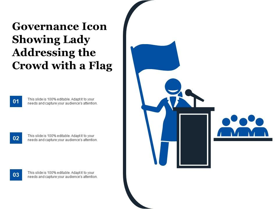governance_icon_showing_lady_addressing_the_crowd_with_a_flag_Slide01