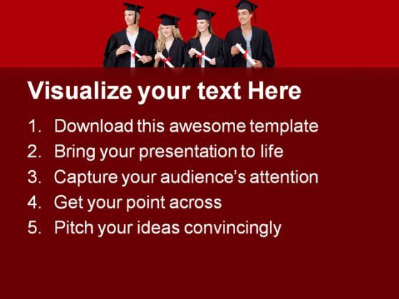 blood ppt templates free download - graduate friends education powerpoint backgrounds and
