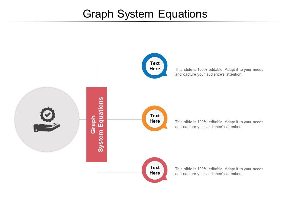 Graph System Equation Ppt Powerpoint Presentation Pictures Infographics Cpb