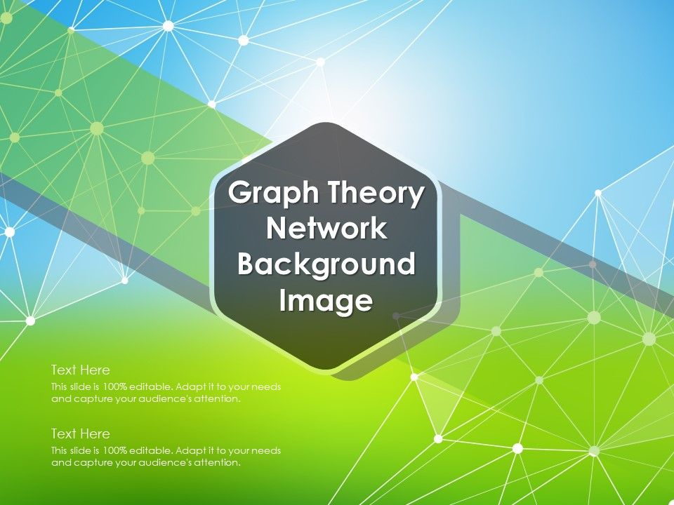 Graph Theory Network Background Image | PowerPoint Presentation
