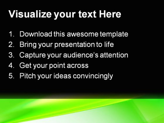 Green abstract powerpoint template 0910 powerpoint presentation green abstract powerpoint template 0910 presentation themes and graphics slide02 toneelgroepblik Choice Image