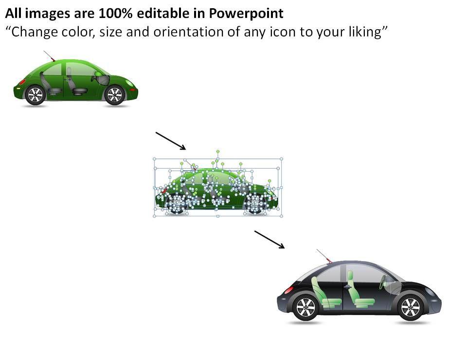 Green Beetle Car Side View Powerpoint Presentation Slides Slide23
