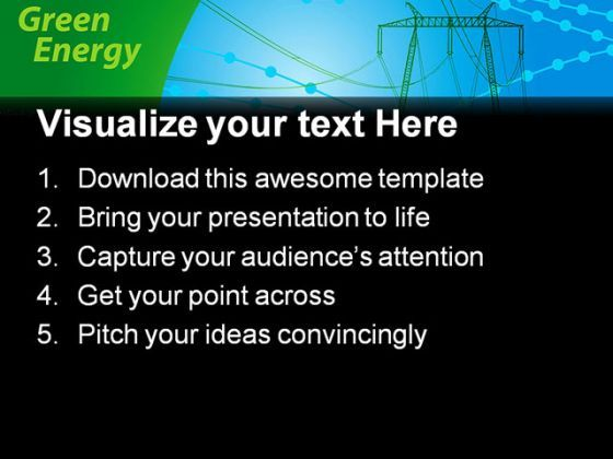 powerpoint background technology