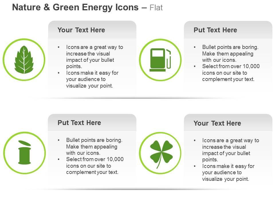 green_leaf_fuel_bin_eco_friendly_system_ppt_icons_graphics_Slide01
