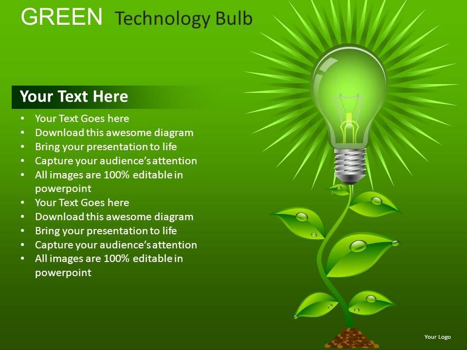 green_technology_bulb_powerpoint_presentation_slides_db_Slide01
