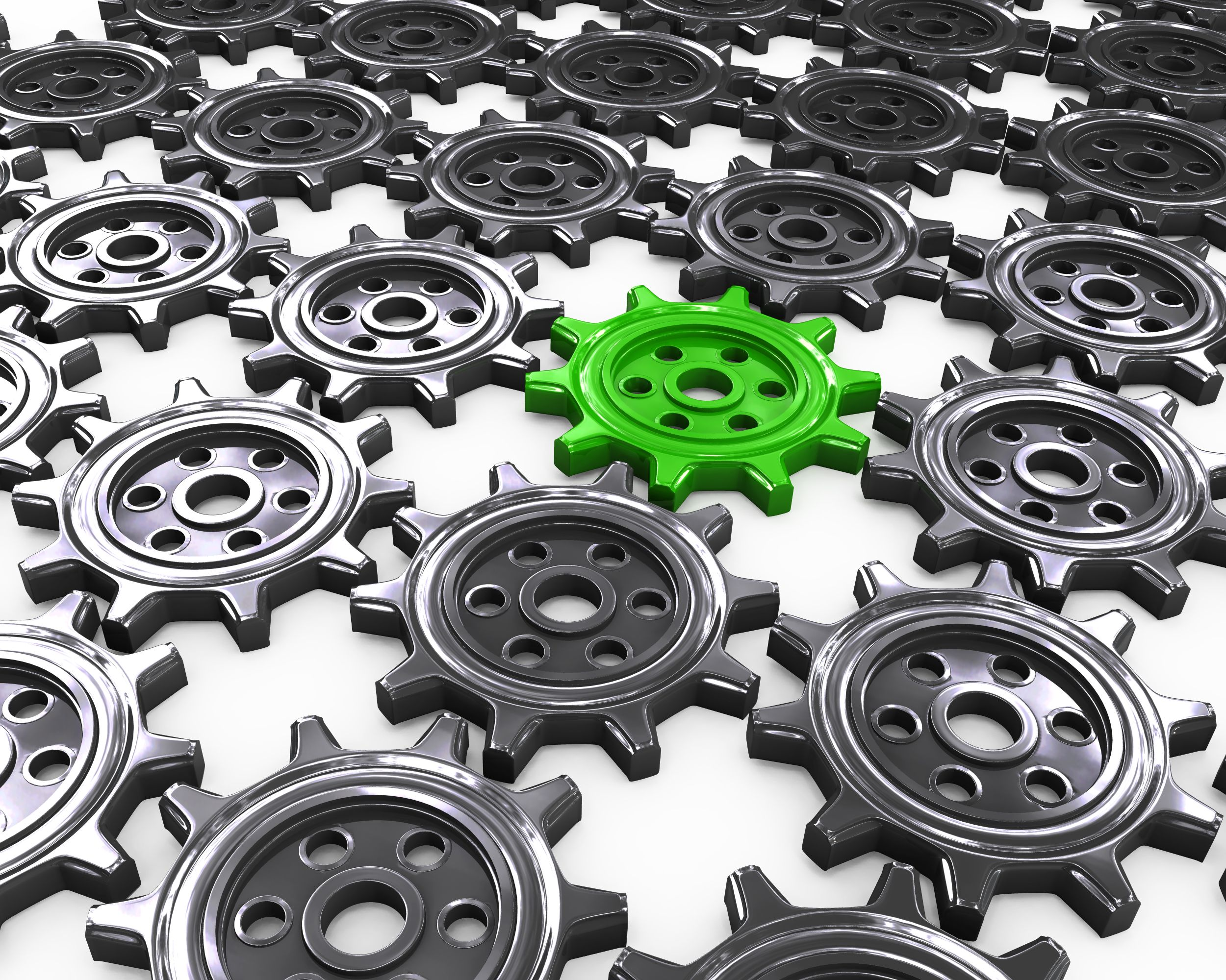 grey_gears_with_one_green_gear_as_leader_stock_photo_Slide01