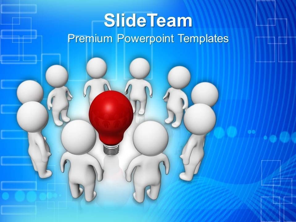 Group Of People Creating New Ideas Innovation Powerpoint Templates